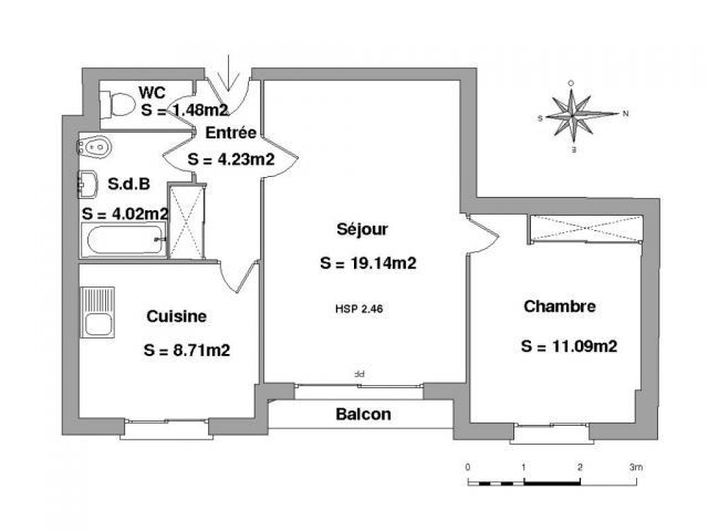 Appartement à louer sur Lourdes