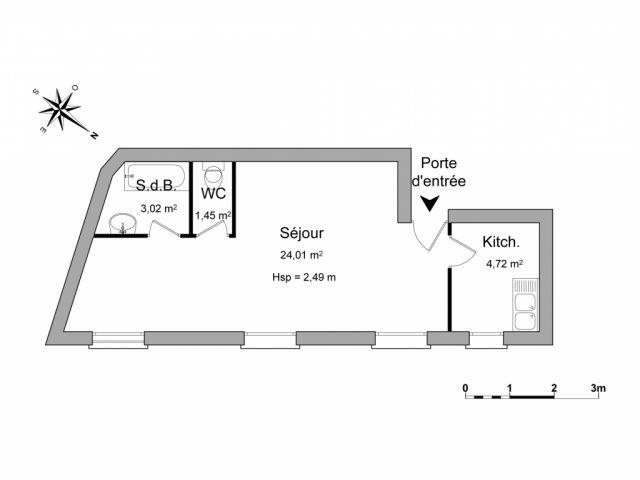 appartement à louer sur pontcarre