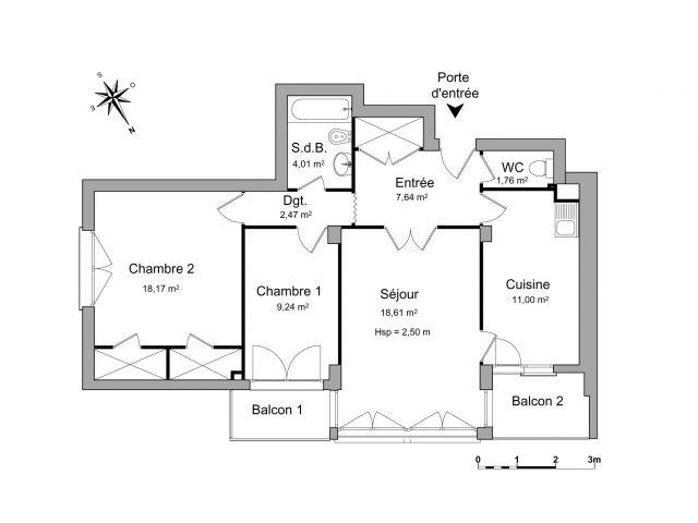 Appartement à louer sur Villars