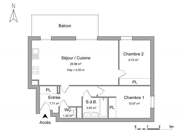 Appartement à louer sur Besancon