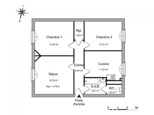 Location appartement 3 pi ces charleville mezieres 08000 for Piscine 08000