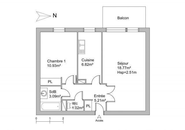 Appartement à louer sur Cergy-saint-christophe