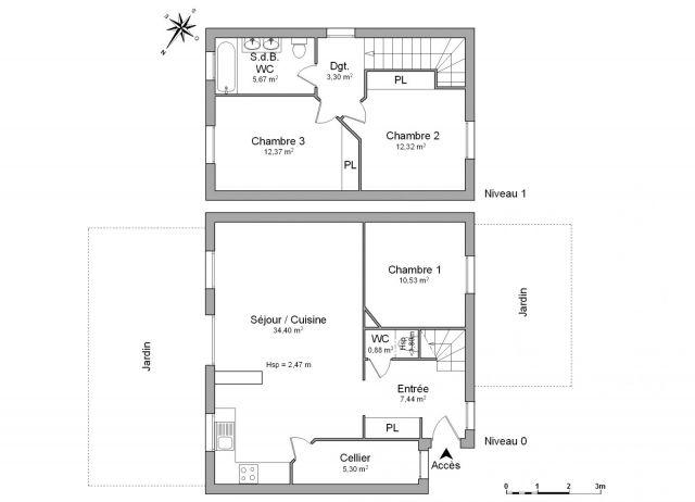 Maison à louer sur Quinsac