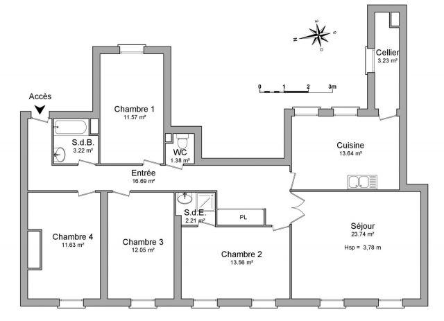 Location appartement bordeaux 33 foncia page 5 for Recherche appartement a louer bordeaux
