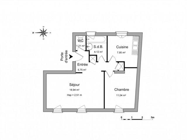 appartement à louer sur gien