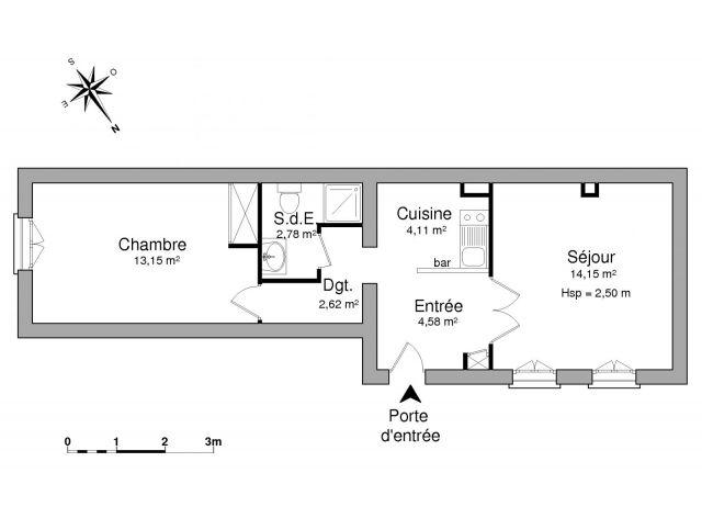 appartement à louer sur puteaux