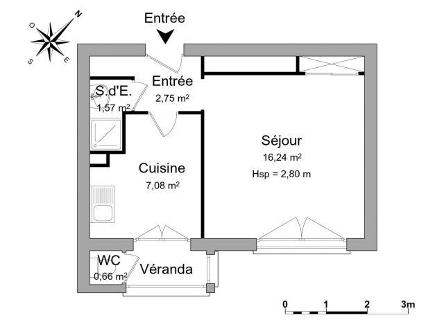 Appartement à louer sur Bois Colombes