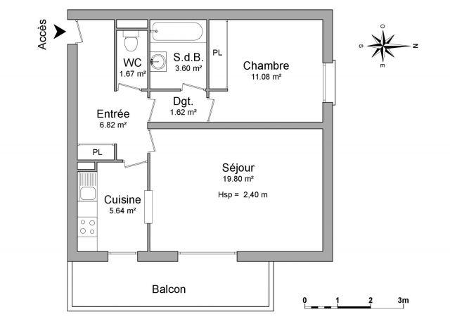 Appartement à louer sur Gex