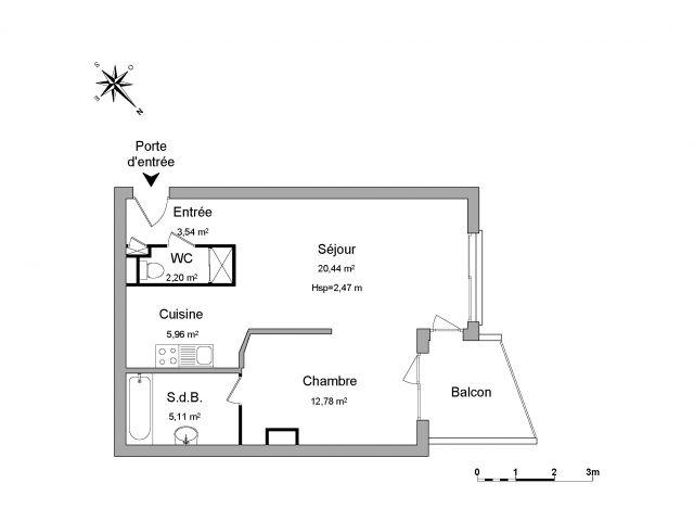 appartement à louer sur saint-priest-en-jarez