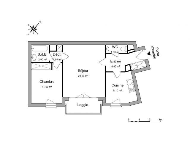 Appartement à louer sur Issy Les Moulineaux
