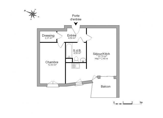 Appartement à louer sur Sallanches