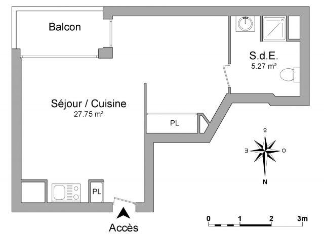 Appartement à louer sur Cachan