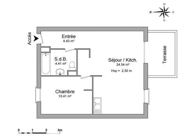 Appartement à louer sur Leon