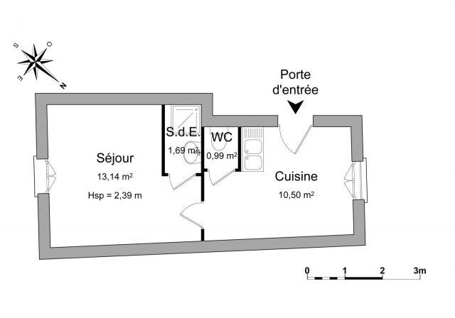 appartement à louer sur la chapelle gauthier