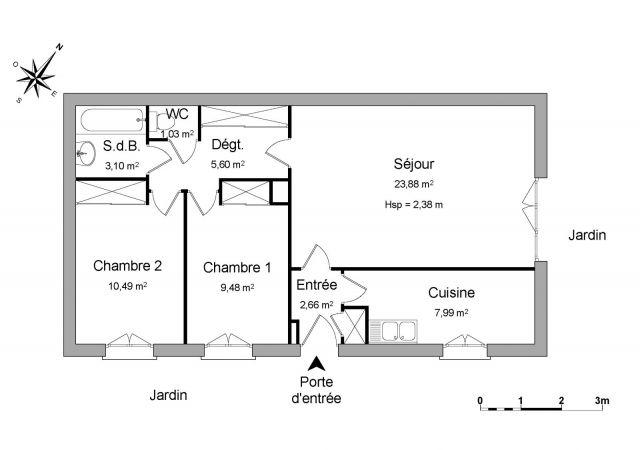 location appartement val d oise 95 foncia. Black Bedroom Furniture Sets. Home Design Ideas