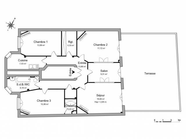 appartement à louer sur houilles