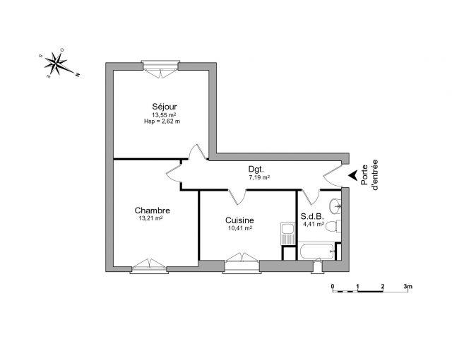 appartement à louer sur thonon-les-bains