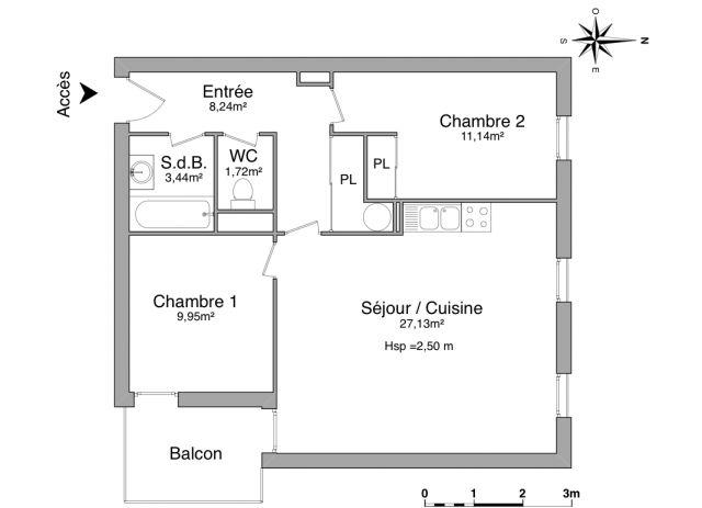 Appartement à louer sur Guingamp