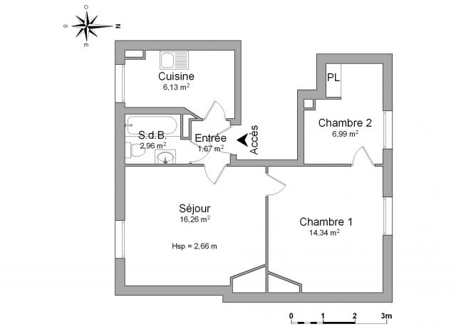 Appartement à louer sur Arcueil