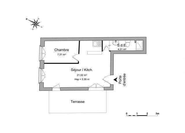 Appartement à louer sur Anse