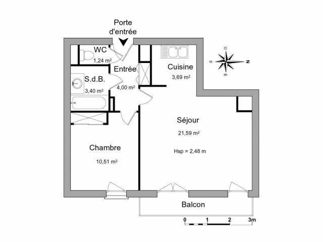 Appartement à louer sur Meaux