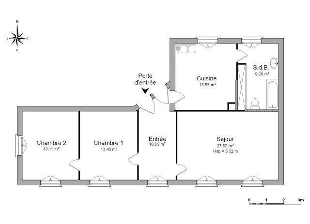 Appartement à louer sur Heidolsheim