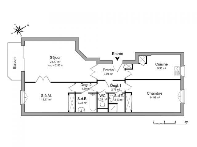 Appartement à louer sur Le Vesinet