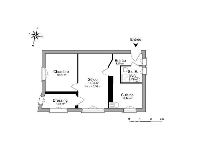 Appartement à louer sur Saint Maurice De Beynost