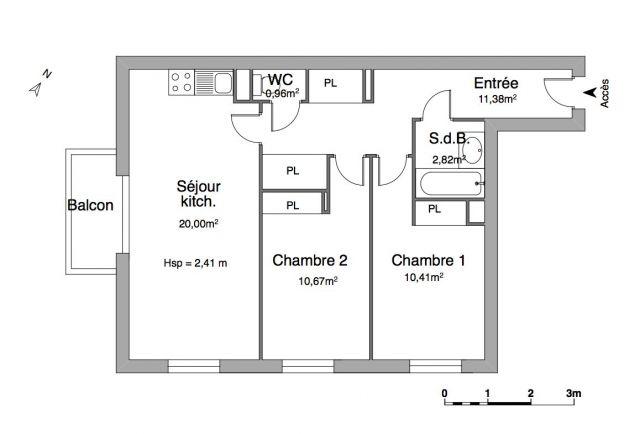 Appartement à louer sur Cagnes Sur Mer