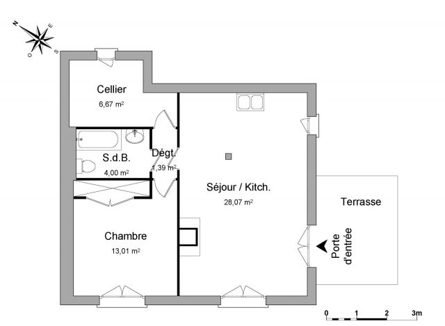 appartement à louer sur larringes