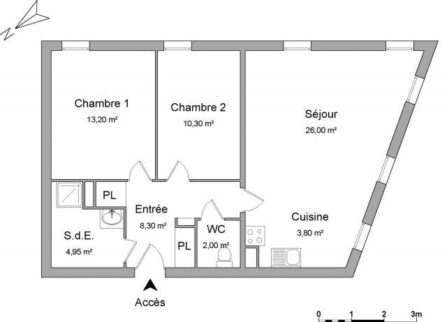 Appartement à louer sur Roubaix