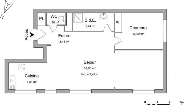 appartement à louer sur lannion