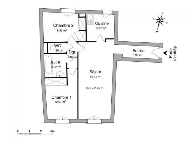 Appartement à louer sur Oloron-sainte-marie
