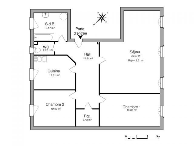 Appartement à louer sur Heming