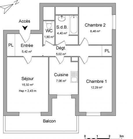 Appartement à louer sur Ambilly
