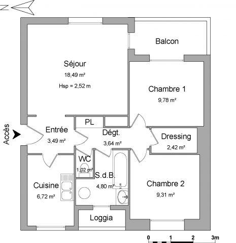 Appartement à louer sur Guilherand-granges